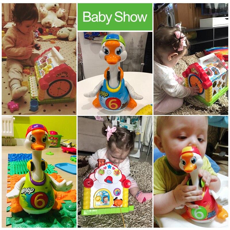 HOLA 739 + 828 enfants amusement arbre maison activité Cube jouet apprentissage chalet & Super Intelligent Hip hop danse lire raconter histoire jouet - 3