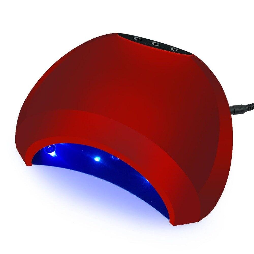 2018 nuevo 48 W sol uñas secador UV lámpara LED lámpara para manicura uñas de secado lámpara de hielo para uñas de manicura máquina