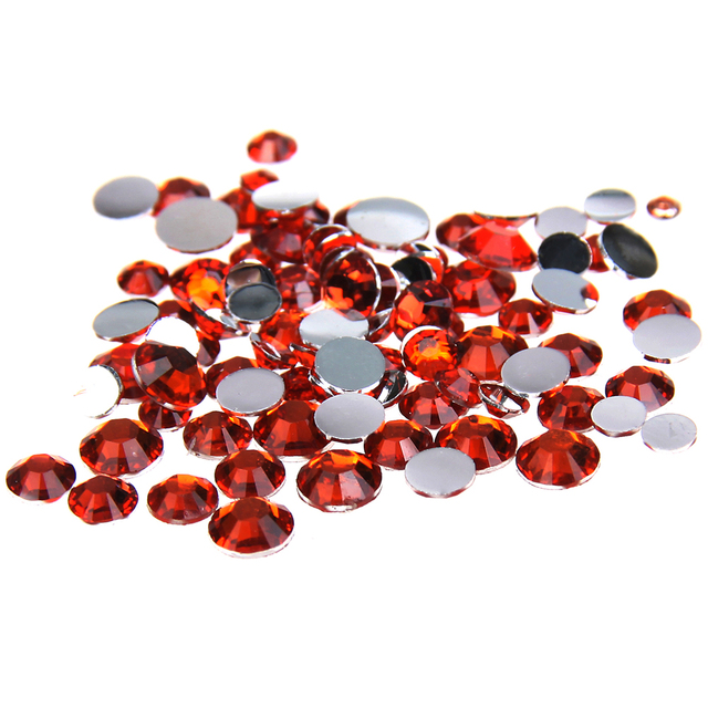 1000pcs 2-5mm And Mixed Sizes Orange Resin Rhinestones Non Hotfix Glitter  Beauty For Nails Art Backpack DIY Design Decorations 9a10cac3d22a