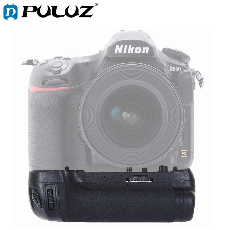 PULUZ D850 Verticais Aperto Da Bateria Da Câmera para Nikon Câmera Digital SLR