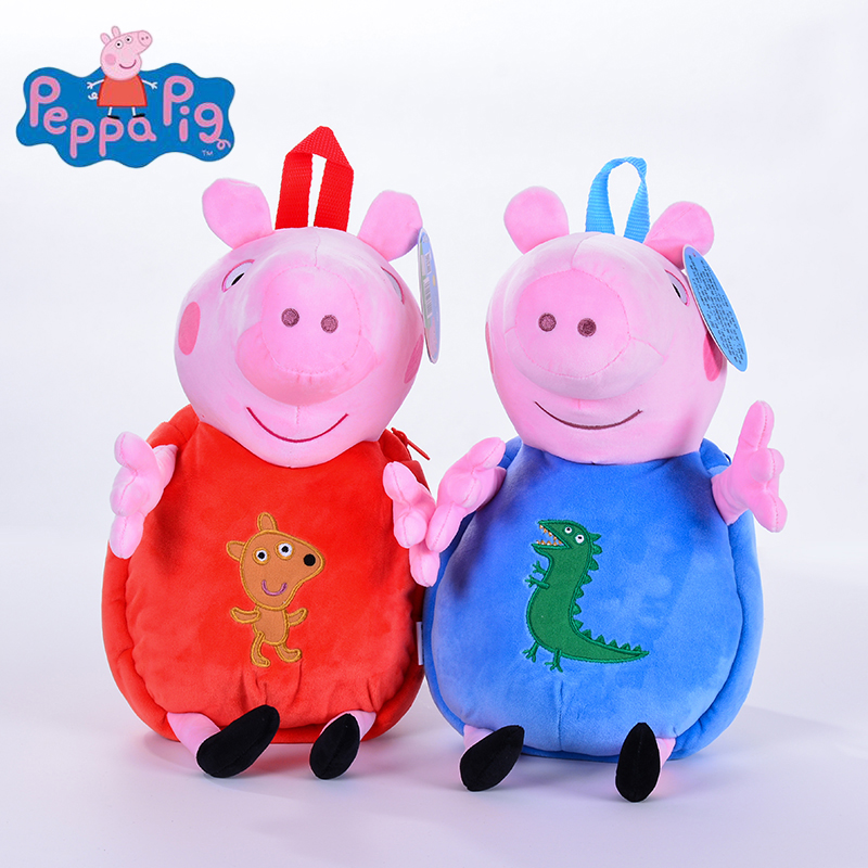 Original 40cm Peppa Pig George Animal De Pelucia Recheado