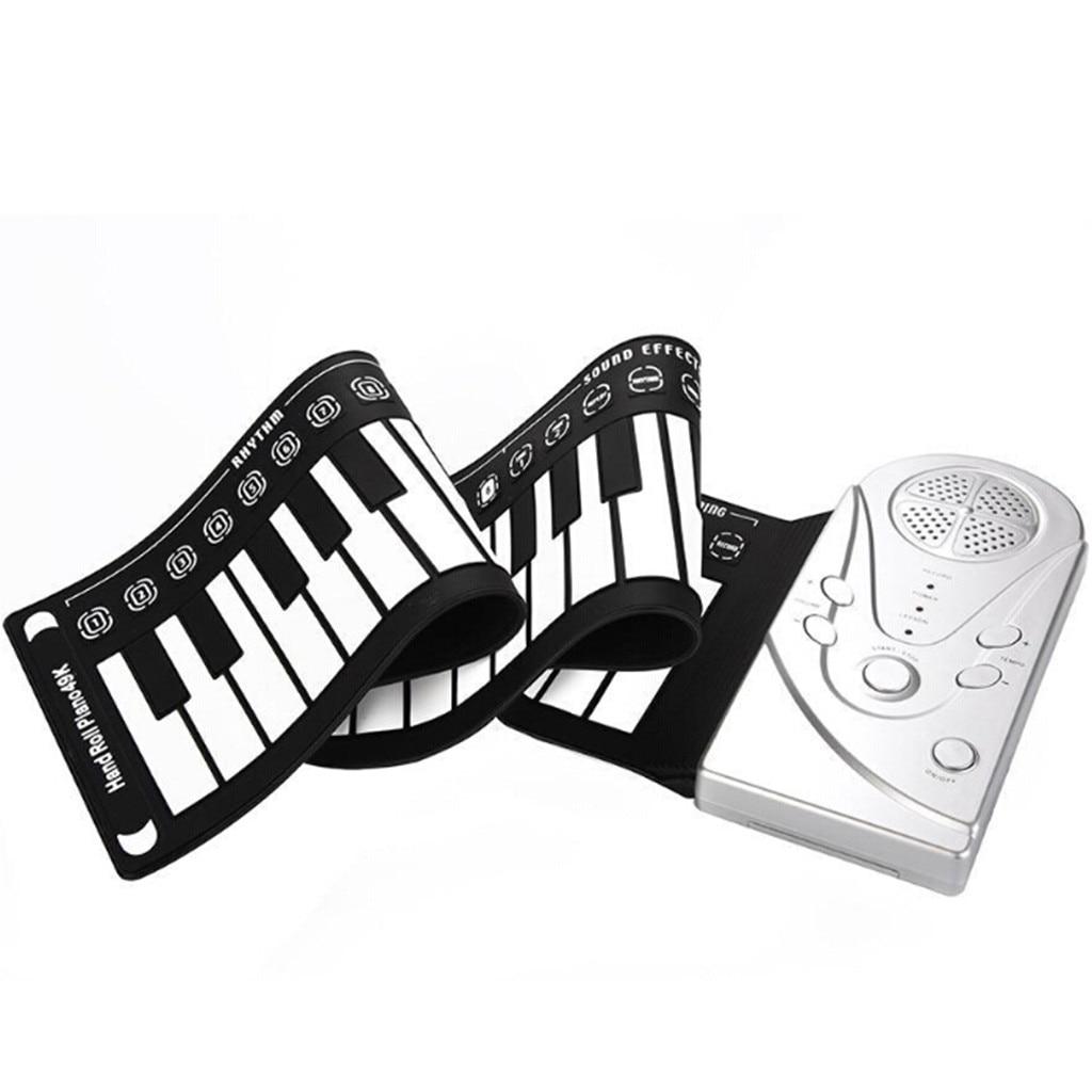 Flexible retrousser clavier électronique souple Piano Portable 49 touches cadeau pour les enfants - 3