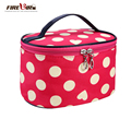Hot new women cosmetic bag Fashion Portable wash bag Cosmetic Cases organizer makeup bag sac a main L196
