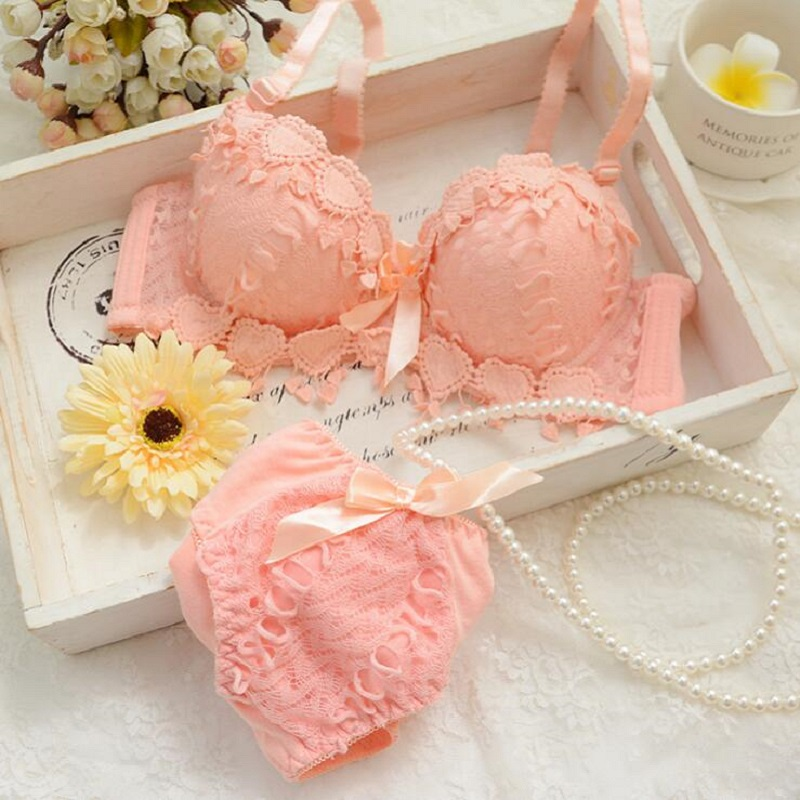 Japanese lingerie <font><b>set</b></font> thin embroidery push up <font><b>bra</b></font> <font><b>set</b></font> <font><b>sexy</b></font> lace underwear <font><b>set</b></font> Floral <font><b>bras</b></font> for <font><b>women</b></font> <font><b>bra</b></font> and panty <font><b>set</b></font> bh image