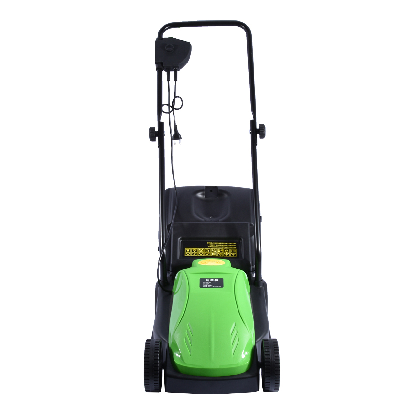 Tools : 1600W Electric Lawn Mower with 10m Cable 220V Lawn Mower Push Weeding Machine Reel Mowers