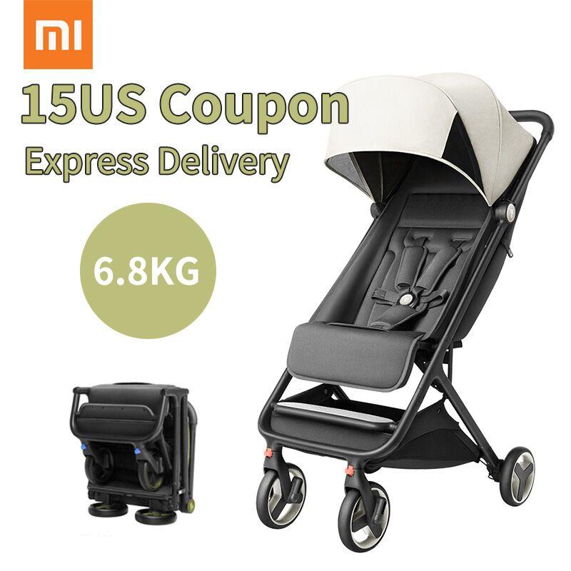 Ultra-light Bambino passeggino può sedersi reclinabile carrozzina del bambino pieghevole scossa portatile da viaggio a due vie bambino ombrello auto può essere sul piano