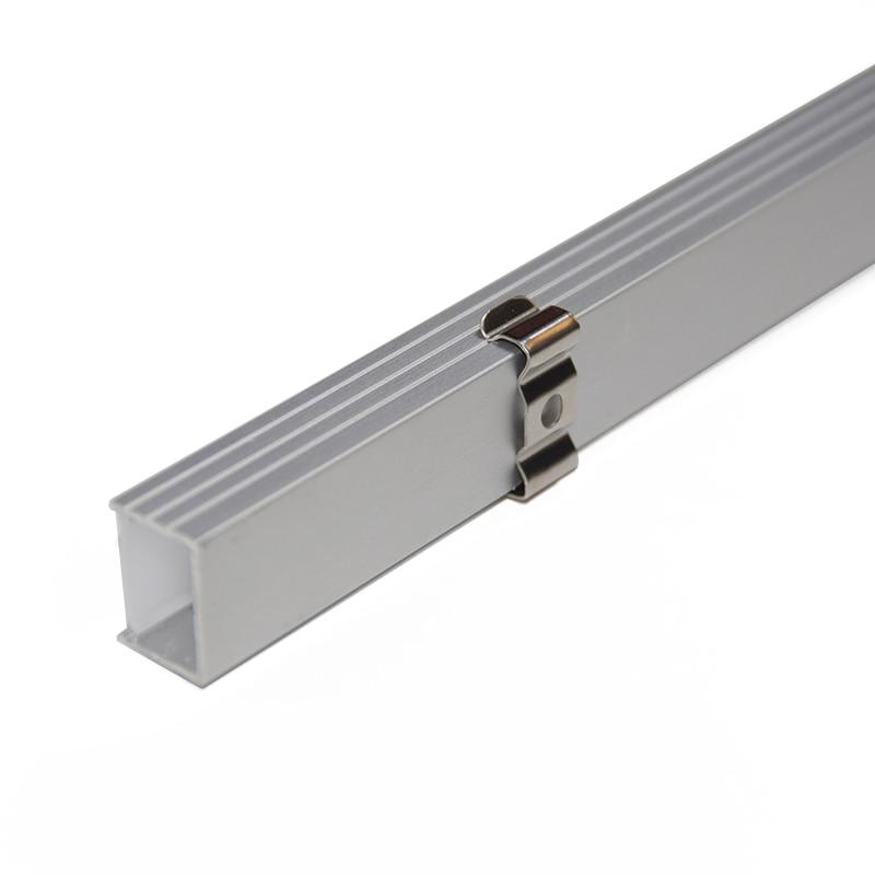 10PCS * 1M U formalı alüminium LED profil alüminium kanal, 16mm - İşıqlandırma aksesuarları - Fotoqrafiya 4