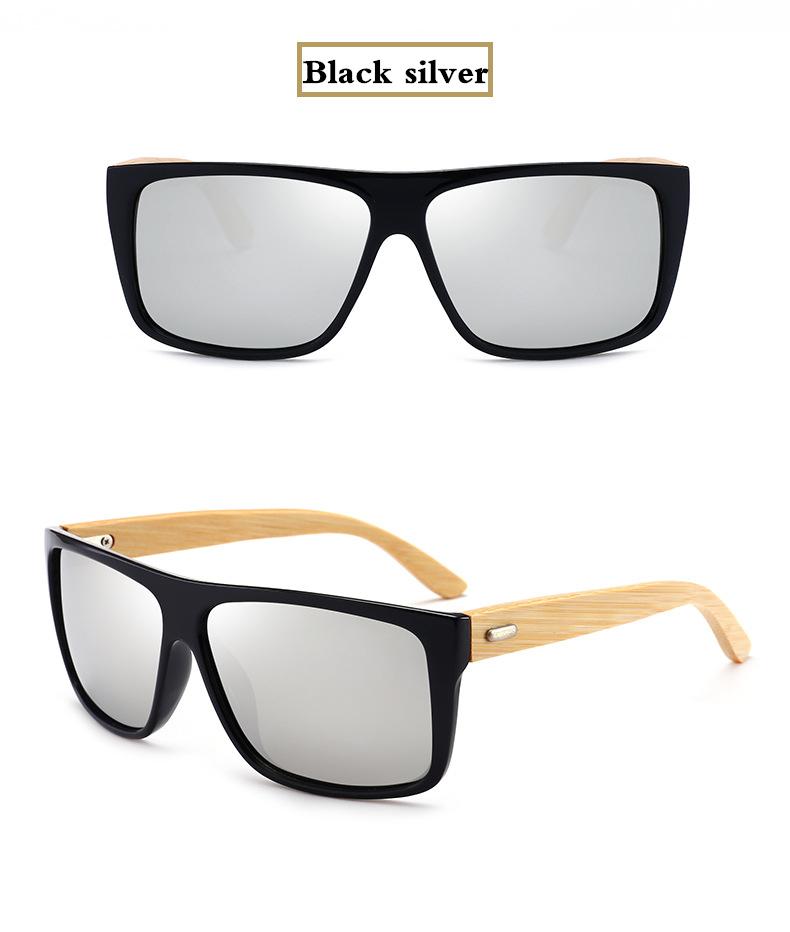 3760fd8c1d KOTTDO 2018 Cool Men Bamboo Leg Sunglasses Driving Square Glasses ...