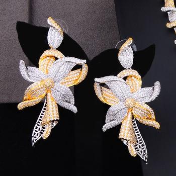 GODKI Famous Brand Charms Lariat Choker Luxury Statement Dubai Jewelry Sets For Women CZ Zircon Wedding Bridal Jewelry Sets 2019 3