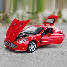 1: 32 Scale Pull Back Light Sound Aston Martin Electronic Car Toy for Kids Children