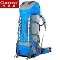 Mochila de escalada de montaña de equipo de Camping profesional de grado superior 70L para deportes de senderismo mochila impermeable al aire libre