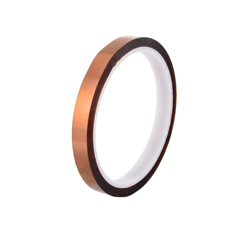 10mm Polyimide Tape Soldering Shielding Self-adhesive High Temperature Heat Resistant Tape For BGA PCB SMT оправа miu miu miu miu mi007dwhag36