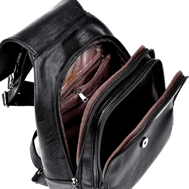 Women Leather Backpacks, Fashion Shoulder Bag