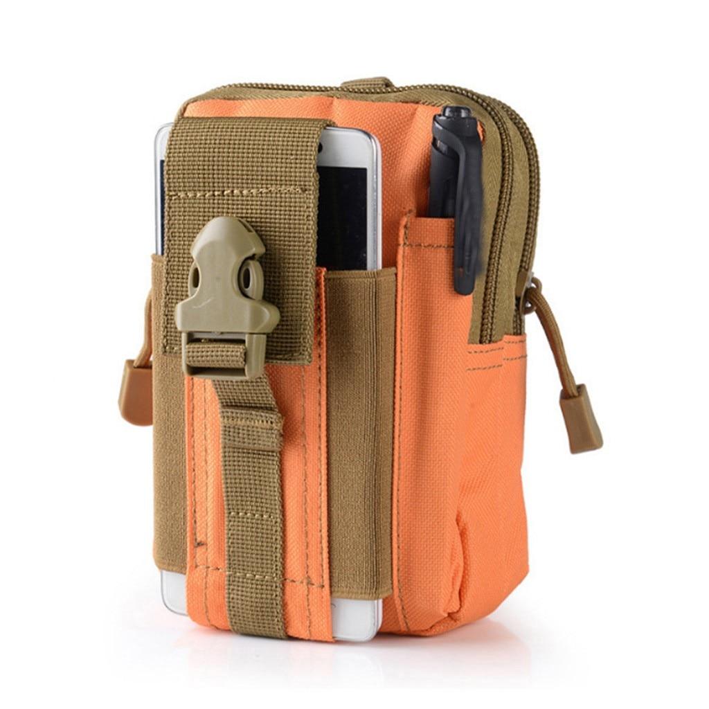 2019 Men Canvas Drop Leg Bag Waist Fanny Pack Belt Hip Bum Military Travel Multi-purpose Messenger Shoulder Bags Apr19