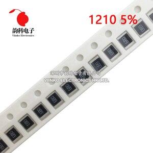 100pcs 1210 5% 1/2W SMD Chip Resistor resistors 0R - 10M 0 10 100 220 470 ohm 0R 10R 100R 220R 470R 1K 2.2K 4.7K 10K 100K 1M 10M(China)