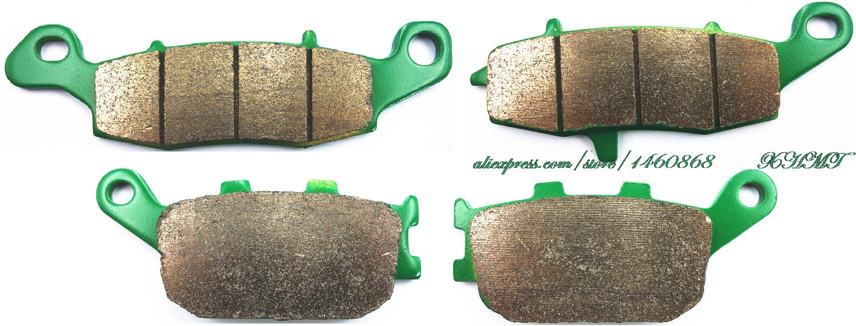 Brake Pad Set for SUZUKI XF 650 FREEWIND 1997 1998 1999 2000 2001 2002