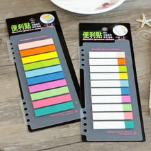 2019 PET transparent sticky notes and memo pad self adhesive memo pad colored Post sticker office school supplies
