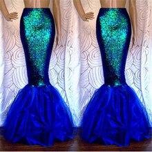 Fantaisie юбка русалки для женщин вечерние длинные макси юбки для Рождество карнавальный костюм falda de fiesta