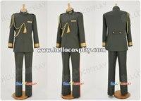 Otome Yokai Zakuro Cosplay Second Lieutenant of the Imperial Army Uniform Kei Agemaki Costume H008