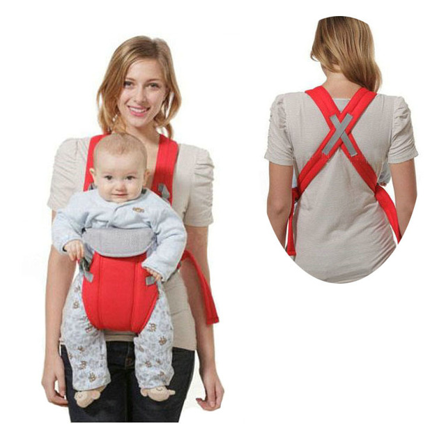 Adjustable Infant Baby Sling Newborn Kid Carrier Wrap Rider Breathable Comfort Backpack New 2015 -- MKC004 PT15 Wholesale