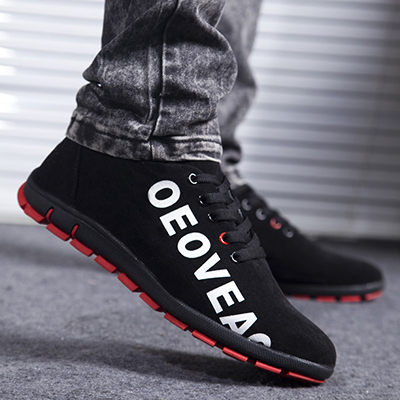 Hot 2016 New Spring/Autumn Men Casual Shoes Fashion Korea Canvas Shoes Soft Men Shoes Breathable Low Lace-up Men Flats Size39-45 new 2015 men canvas shoes casual men flats shoes casual spring autumn fashion men flats shoes black brown fashion low style