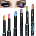 12 Colors Waterproof Smoky Eyeshadow Pen Stick Eye Camouflage Makeup Cream Naked Eye Shadow Palette Liner Pencil Brand Cosmetics