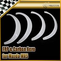 Car Styling For Mazda 1990 1997 MX5 Miata NA FRP Fiber Glass Fender Flares 4pcs In