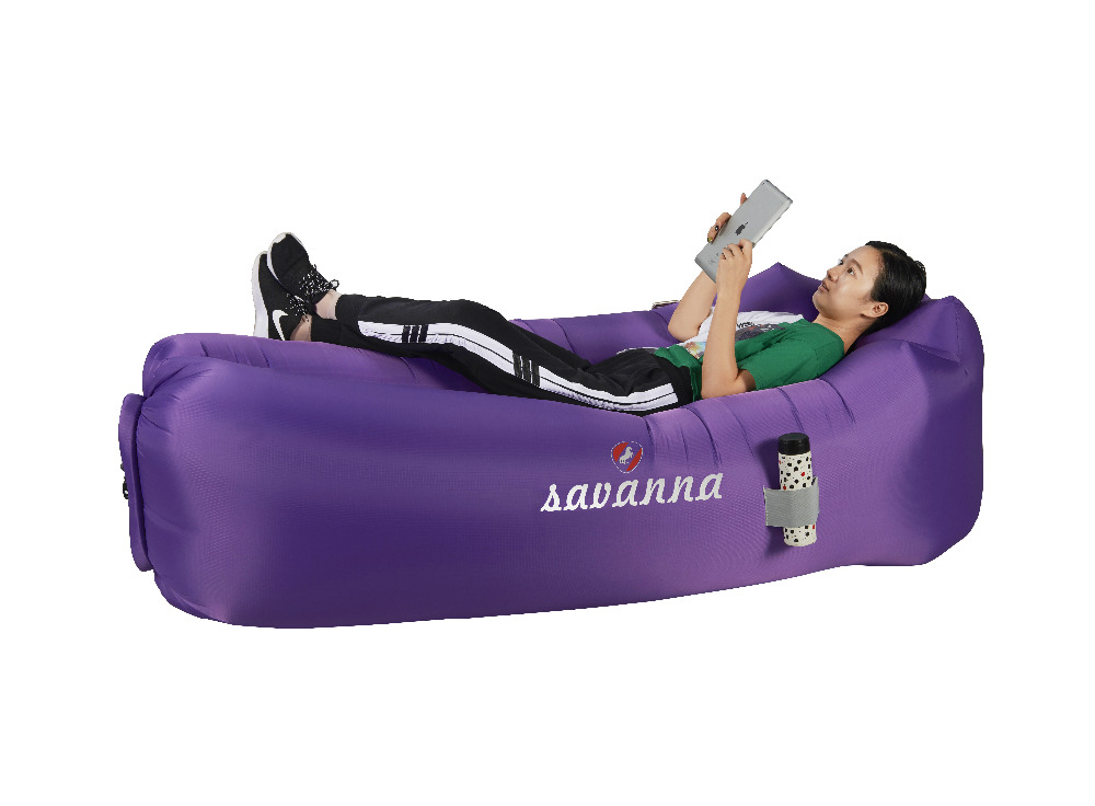 Portable Outdoor Sofa Inflatable Lounger Air Sofa, Water Proof& Anti-Air Leaking Design for backyard Lakeside Beach Traveling цены