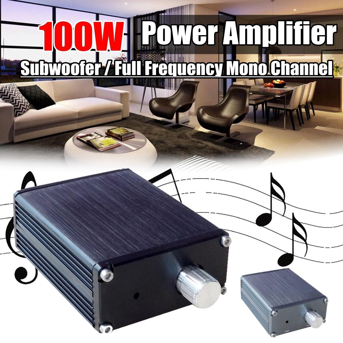 2X100W Douk Audio Subwoofer / Full Frequency Mono Channel Mini Power Amplifier in akustik exzellenz mono subwoofer 3 0m 00604203
