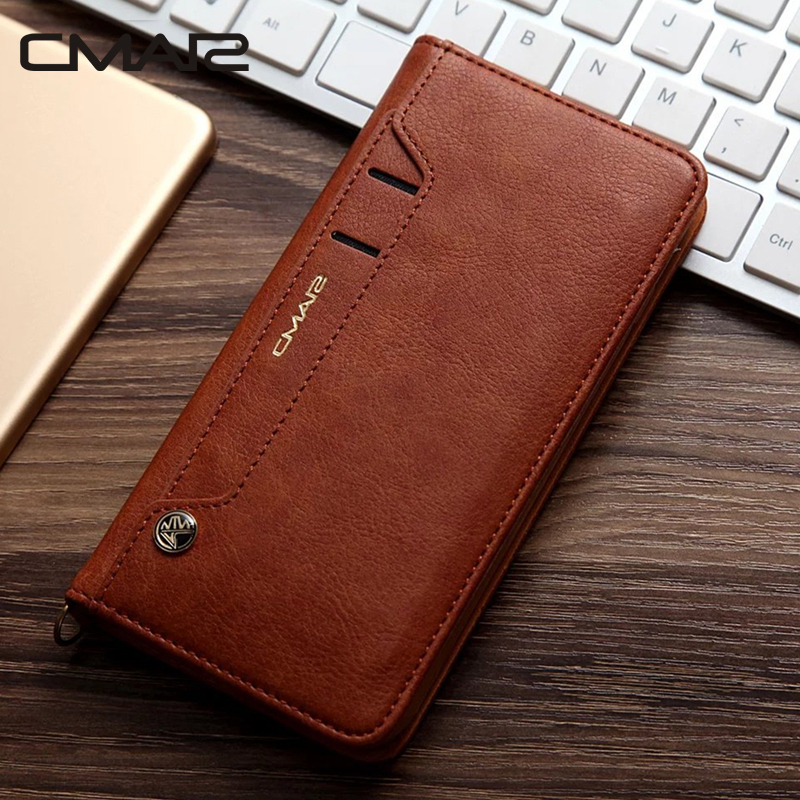 For iphone 7 Case Luxury Stand Flip Wallet Leather Case