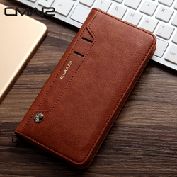 For iphone 7 Case Luxury Stand Flip Wallet Leather Case Flip Cover For iphone 6 6s 6 Plus 7 7 Plus 8 8 Plus X XS XR XS Max 6.5