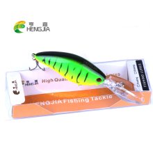 Купить с кэшбэком HENGJIA 1PC crankbaits hard plastic fishing lures floating artificial wobblers baits pesca fishing tackles