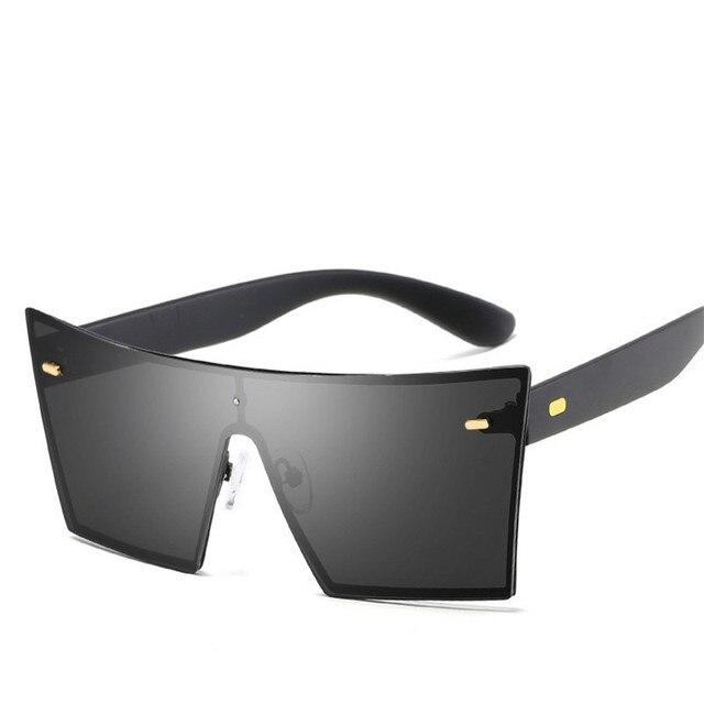 e803e56632 Lunette Square Rimless Sunglasses Women Men Brand Designer Vintage Nail  Sports Goggles Mirror Sun Glasses Oculos De Sol Feminina