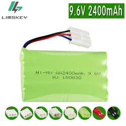 9.6V 2400mAh Remote Controul Toys BATTERY For RC Electronic toy Cars 8*AA NiMh battery group Security Equipment 9.6v battery