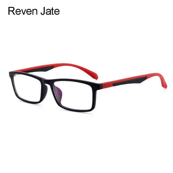 Reven Jate D006 Optical Eyeglasses Frame for Men and Women Eyewear Fashion Prescription Glasses Frame for Rx Spectacles 1 74 index anti blue ray prescription optical eyeglasses spectacles lenses rx able lenses free assembly with glasses frame