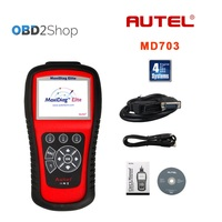 Autel Maxidiag Elite MD703 With DS Model for 4 System Update Online Support US Vehicles auto scanner