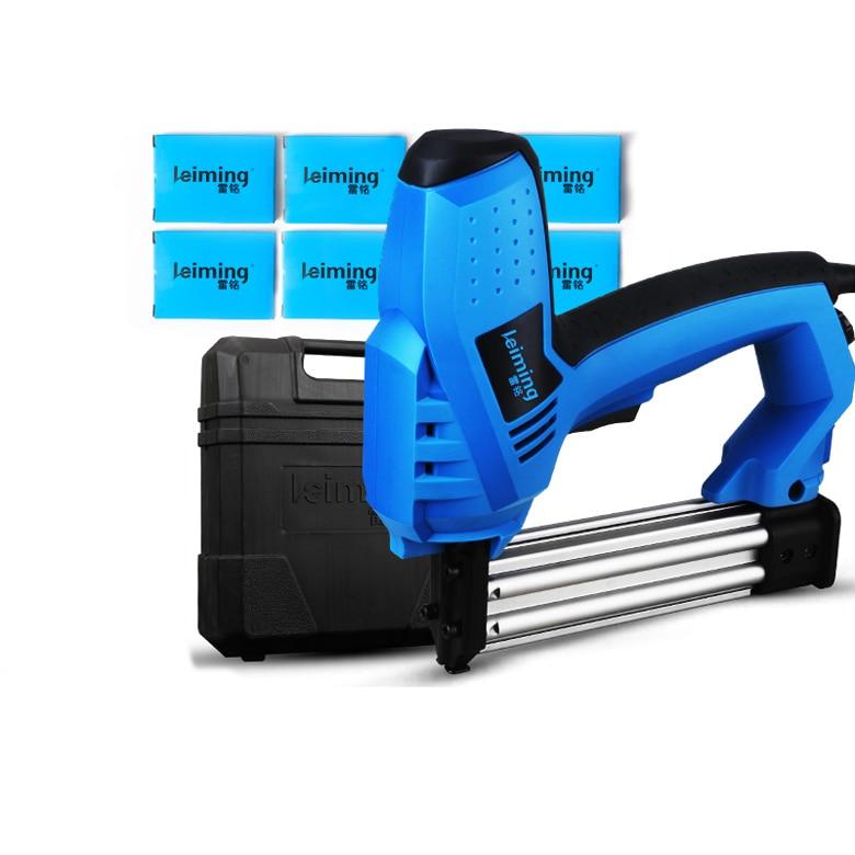 цена на Electric nail gun Straight nail / U type nail Dual-use nail gun 2KW 220V