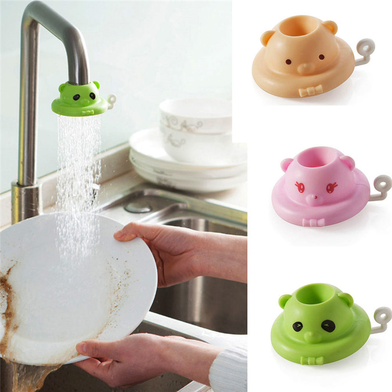 360 Degree Rotating Cartoon Kitchen Faucet Saving Water Sprayers Quality first