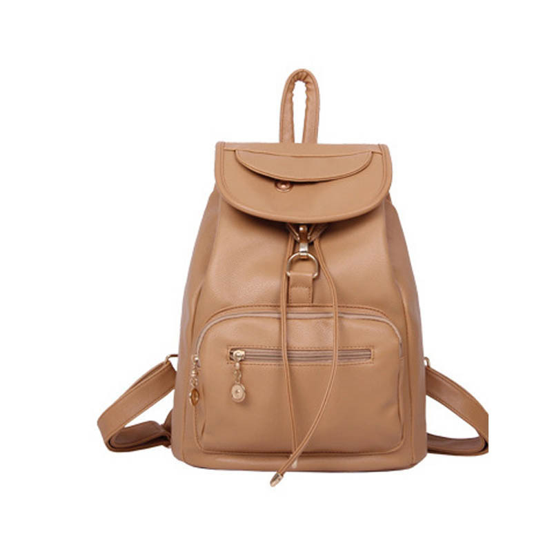 High quality Women Fresh PU Leather backpack school bags for teenagers girl women fashion college Travel Bag Shoulder Bag W0157 2017 fashion women waterproof oxford backpack famous designers brand shoulder bag leisure backpack for girl and college student