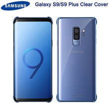 Samsung Original Transparent Plating Edge TPU Phone Case For Galaxy S9 G9600 S9+ S9Plus G9650 Protective Cover