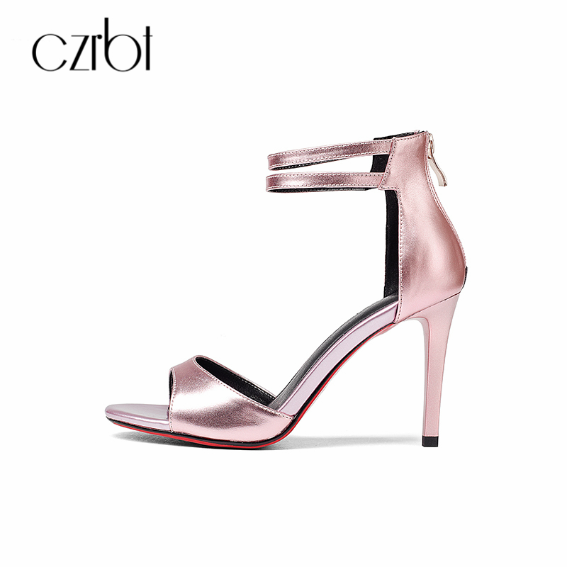 CZRBT Summer 2018 New Women Pumps Wedding Shoes Woman Thin High Heels 9CM Nude Fashion Sexy High Heels Party Shoes 2018 new summer shoes woman high heels