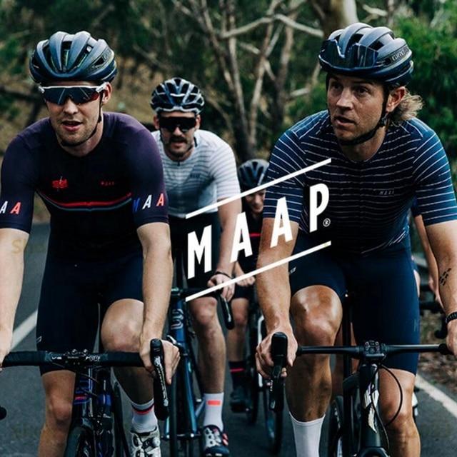 MAAP 2019 NEW Nationals Pro Cycling Jersey Men Air mesh sleeve short shirt MTB M flag sport wear Ice blue Camiseta de montar RBX