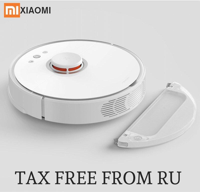 2018 Новый roborock S50 Xiaomi Mi робот пылесос 2 планируется очистки пылесос для дома развертки влажной уборки приложение Управление