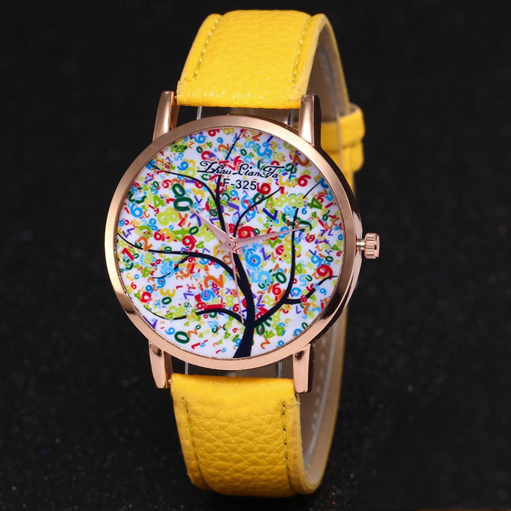 Hot Women Watch Reloj Mujer Ladies Creative Watches Fashion Christmas Tree Female Luxury Dress WristWatches Zegarek Damski &Ff