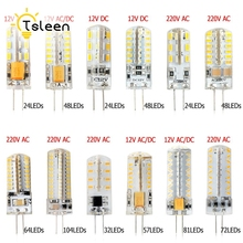 360 degree G4 LED 12V DC AC 220V 3014 SMD Bulb Lamp 3W 5W 6W 8W 9W home shops offices  studio and exhibition lighting