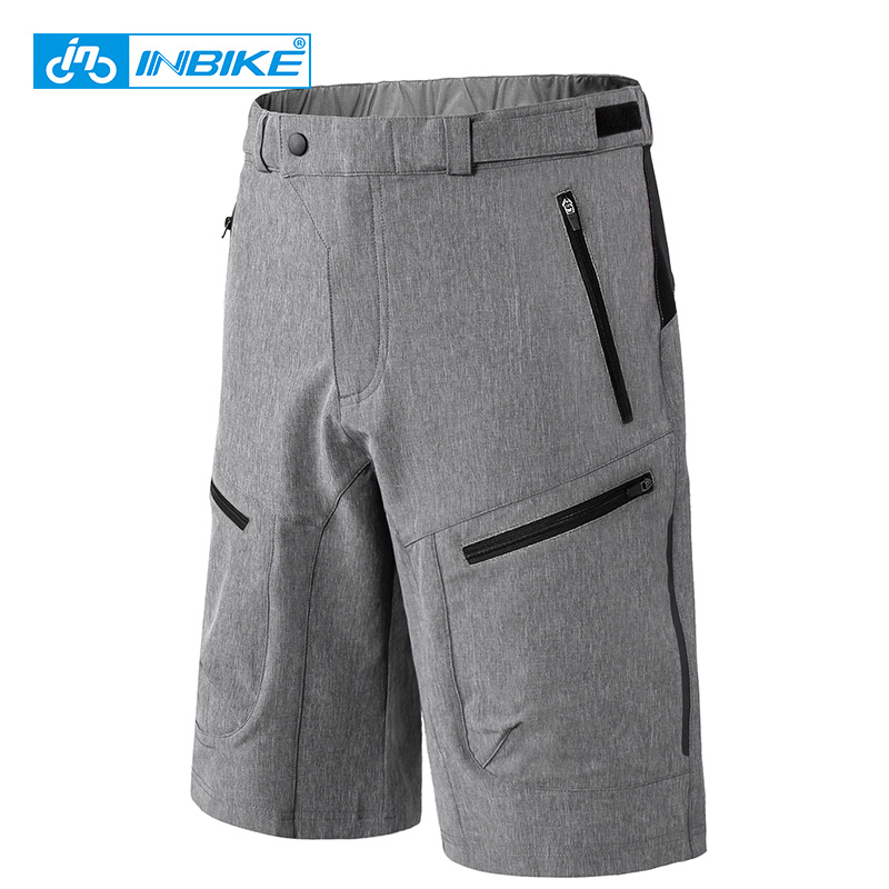 INBIKE Outdoor Sports Cycling Shorts Summer Men's Road Mountain Bike Short Trousers Running Hiking Downhill MTB Bicycle Shorts
