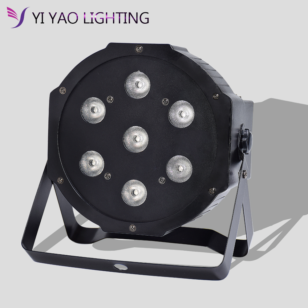 Par Light 7x10W For Stage Lighting RGBW 4 Color LED For DJ Event Party Disco Birthday Wedding