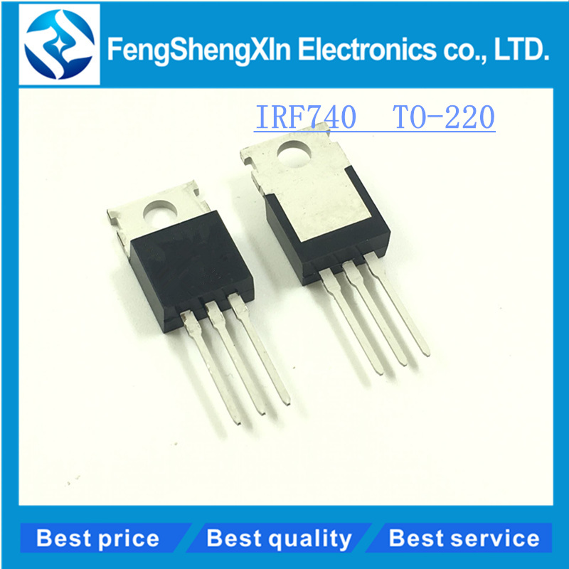 50pcs/lot NEW IRF740 IRF740PBF Into the MOS field effect tube TO-220