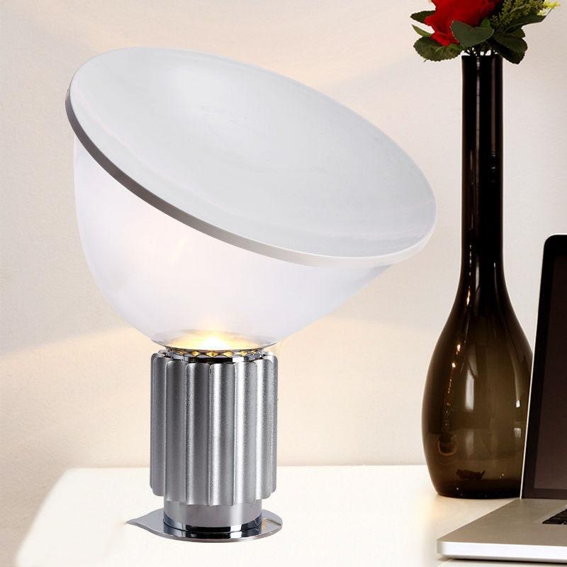Nordic современный итальянский творческая радар светодиодный настольная лампа освещение прикроватная лампа освещение книга изгиб