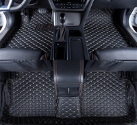 5 Colors Car Floor Mats Front Rear Liner Waterproof Mat For Skoda Superb 2017 2016 Years